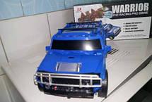 Музыкальный светящийся трансформер Warrior The Racing Pro SBWE, фото 3