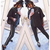 Женский спортивный костюм / двунитка - петля, рибана / Украина, фото 1