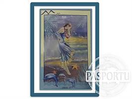 Набор для вышивки картины Морская Дева 77х54см