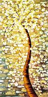 """Алмазная мозаика """"Волшебное золотое дерево"""", картина стразами 30*50 см"""