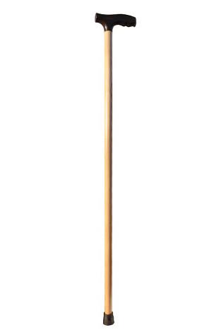 Дерев'яна тростина з пластик. ручкою MED-01-005