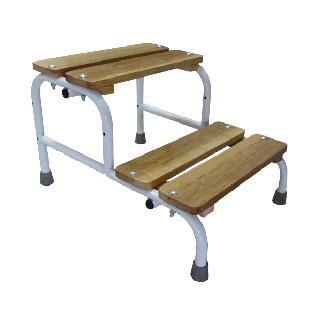 Східці для ванни, подвійна, без поручнів MED-05-001