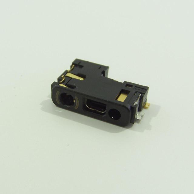 Коннектор зарядки Nokia 1200/1208/1202/1208/1209/1650/1661/1680/2600c/2630/2760/2680/5000/7070