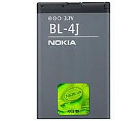 Батарея (акб, аккумулятор) BL-4J для телефонов Nokia (1200 mAh), оригинал