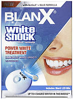 BlanX Комплекс Blanx «White Shock» с активатором Led Bite (30 мл)