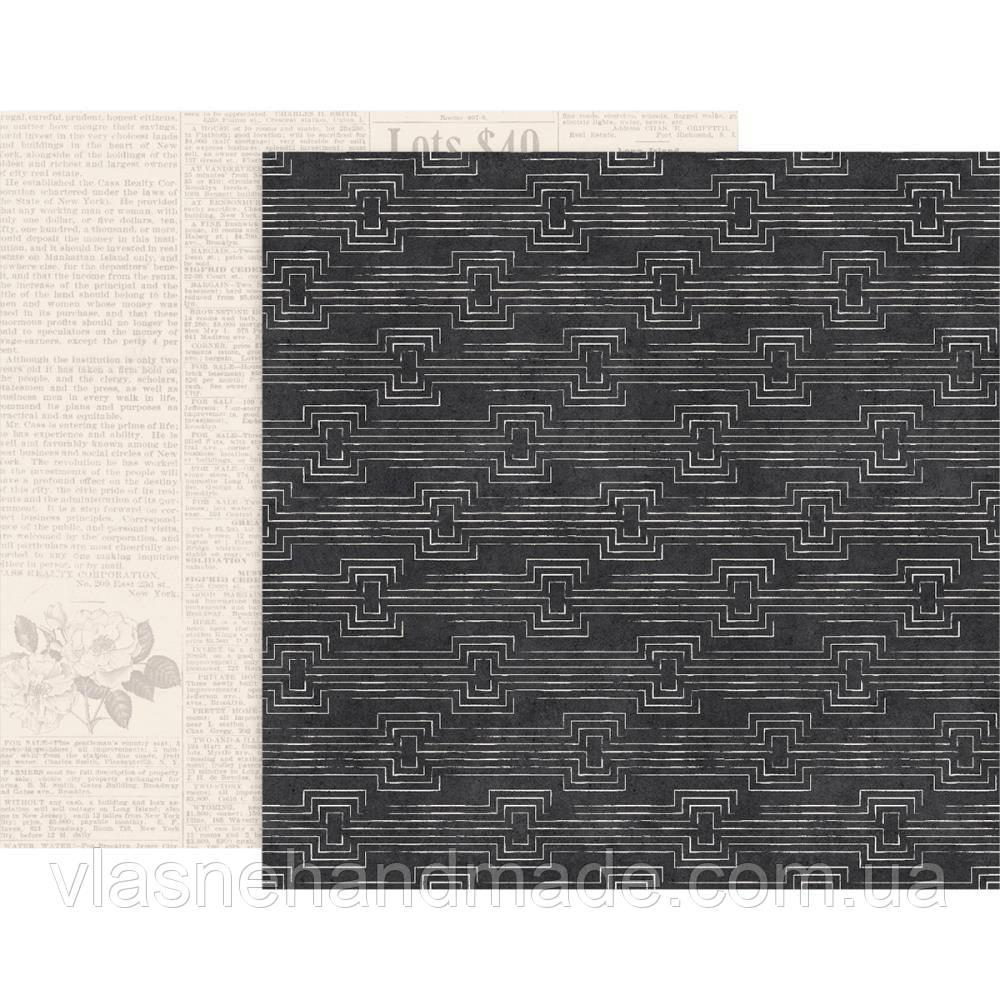 Папір двосторонній - #04 - Auburn Lane - Pink Paislee 30x30