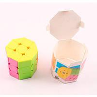 Кубик Рубика, многогранник, 6-6-6 см, 849, 007903