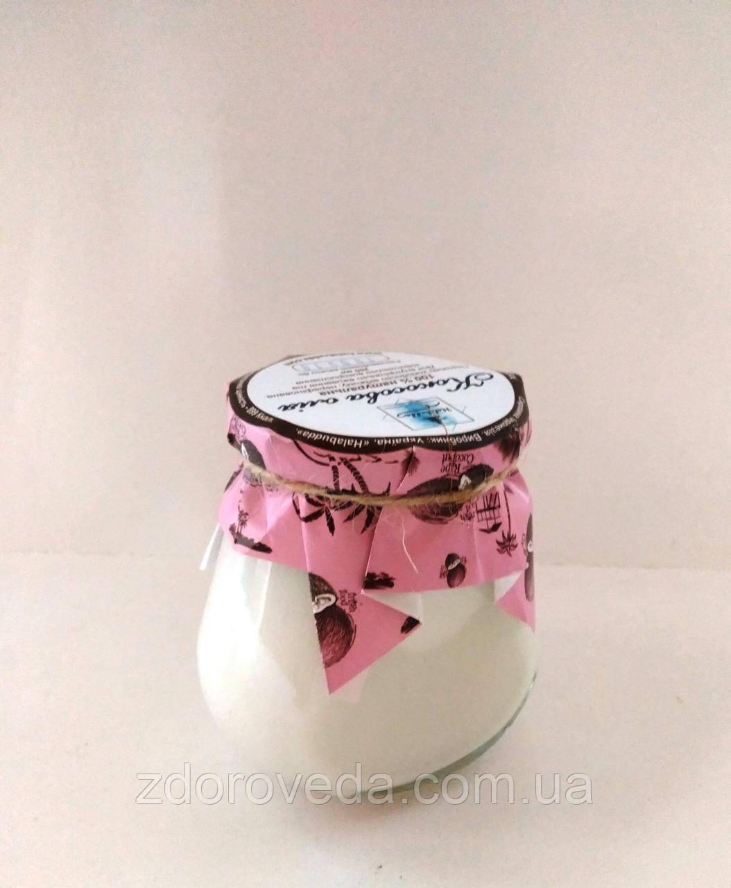 Кокосовое масло холодного отжима, нерафинированное, 250 мл