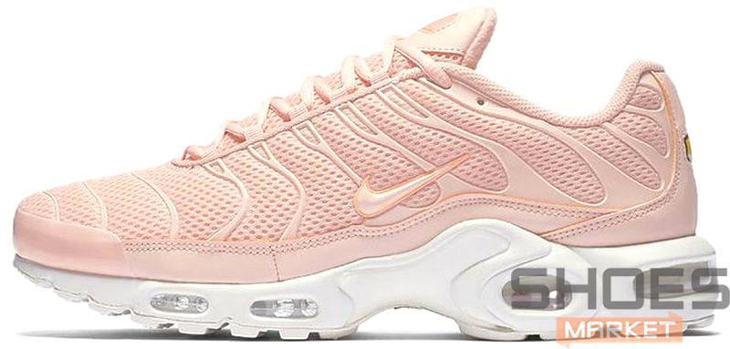 Женские кроссовки Nike Air Max TN Plus Pink - Интернет-магазин обуви и  одежды в a79a911030358