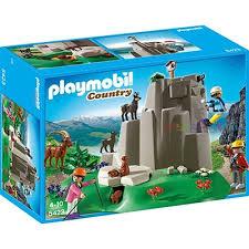 Playmobil 5423 Скелелаз та гірські тварини (Плеймобил конструктор Скалолазы и горные животные)