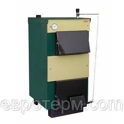 Котел твердотопливный ТИВЕР КТ 20 кВт сталь 3 мм