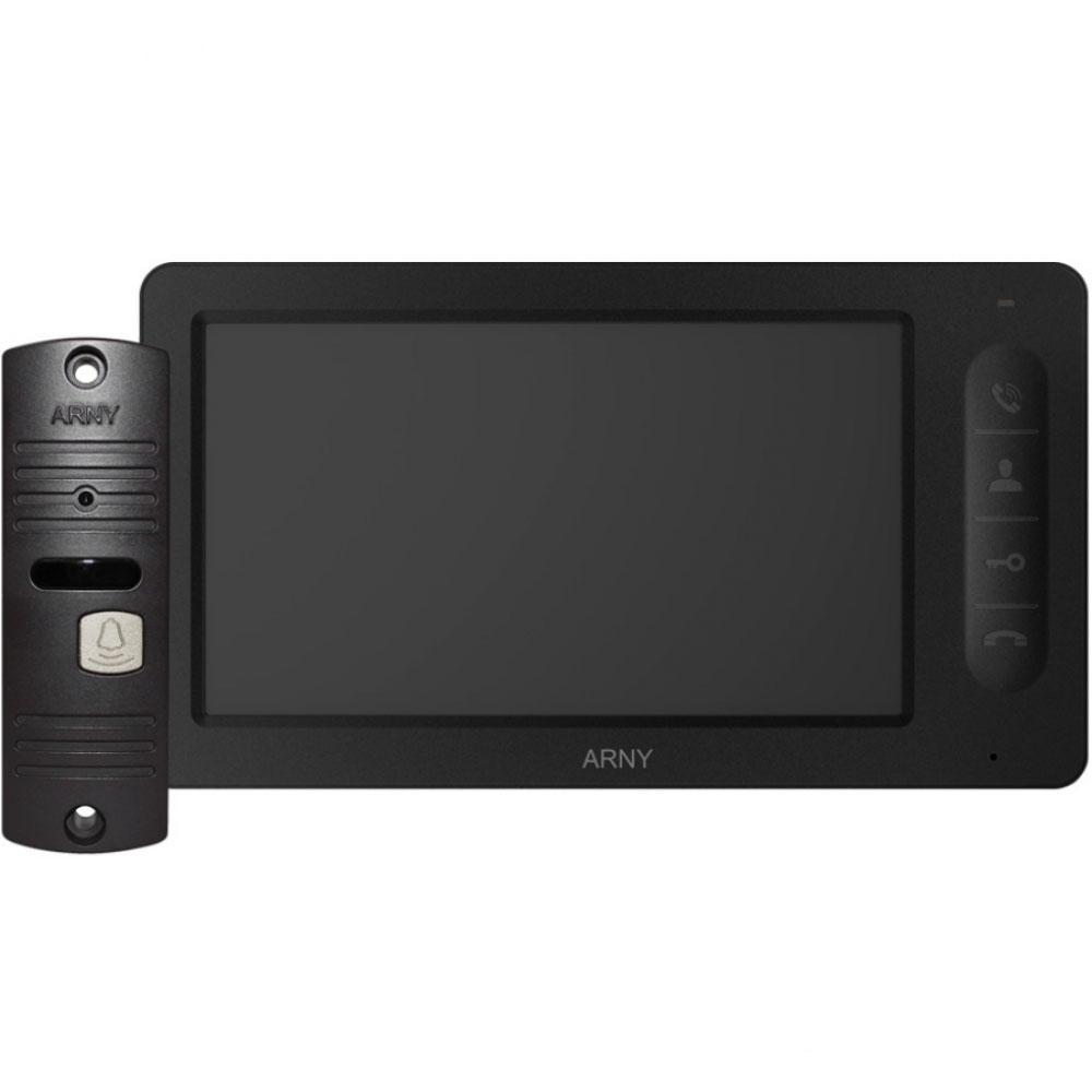 Комплект відеодомофона ARNY AVD-7005 Чорний