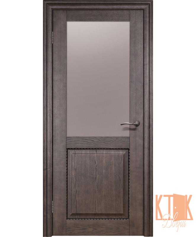 Межкомнатные двери Оптима ПО (каштан)