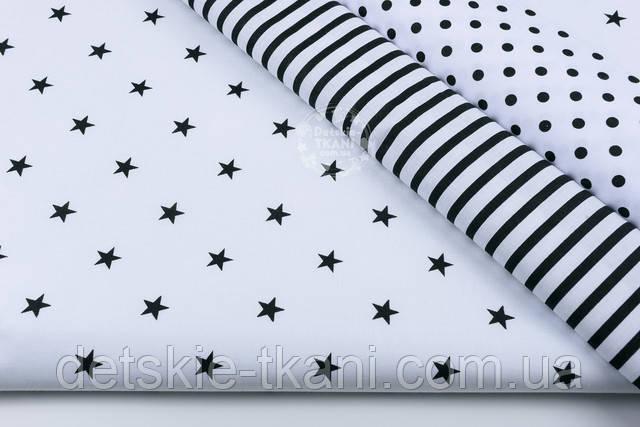 ткани чёрно-белого цвета