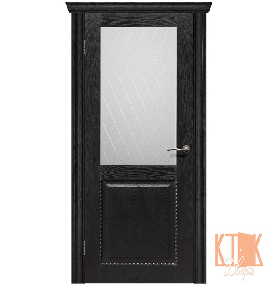 Межкомнатные двери Оптима ПО (нуар)