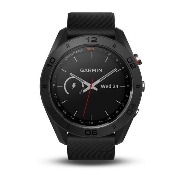 Смарт-часы для гольфа Garmin Approach S60 - Black - Интернет магазин