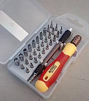Профессиональный набор отверток Sibote  33 в 1 для ремонта телефонов, электроники, битовой техники