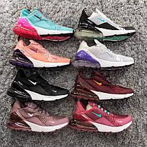 Размер только 41 !!! Женские кроссовки Nike Air Max 270 Pink / найк / реплика МОДЕЛЬ ВЕСНА 2018, фото 3