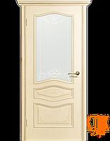 Межкомнатные двери Леона ПО (ваниль)