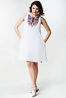 Вишита лляна сукня F-017, фото 1