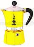 Гейзерная кофеварка BIALETTI Rainbow 1 TZ Yellow