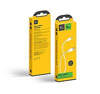 USB кабель Florence для iPhone 6/6 Plus, 1м, 2А, white