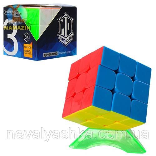Кубик Рубика на подставке, 3х3, 379001-A, 006734
