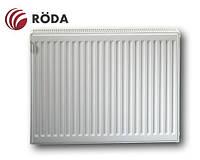 Радиатор стальной Roda Eco 600x1100 ➲ 22 Тип ➲ Боковое подключение