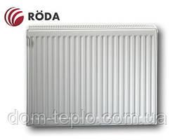 Радиатор стальной Roda Eco 600x1200 ➲ 22 Тип ➲ Боковое подключение