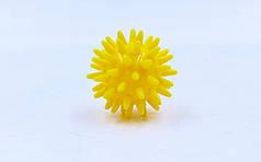 Мячик массажер резиновый  (d-4,5см, 30гр)