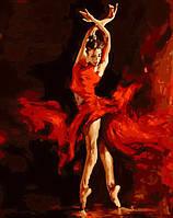 MG523 Рисование по номерам Огненный танец
