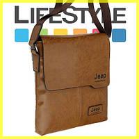 Модные buluo Jeep мужская сумка, мужская повседневная кожаная винтажная сумка, фото 1