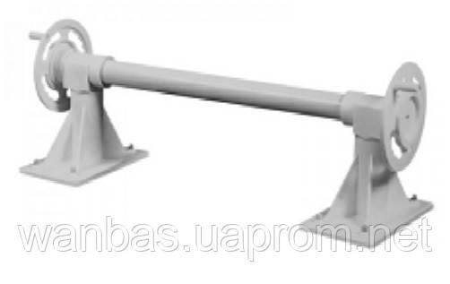 Ролета раздвижная из ABS-пластика для солярной пленки с алюминиевой  3-х секционной штангой ( 4,88~6,3 м.)