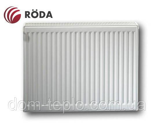 Радиатор стальной Roda Eco 600x1400 ➲ 22 Тип ➲ Боковое подключение