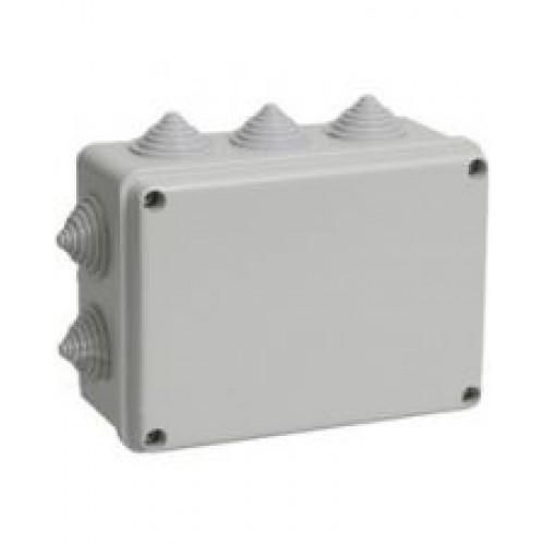 Коробка распределительная 150*110*70 квадрат / LMA204 с резиновыми заглушками