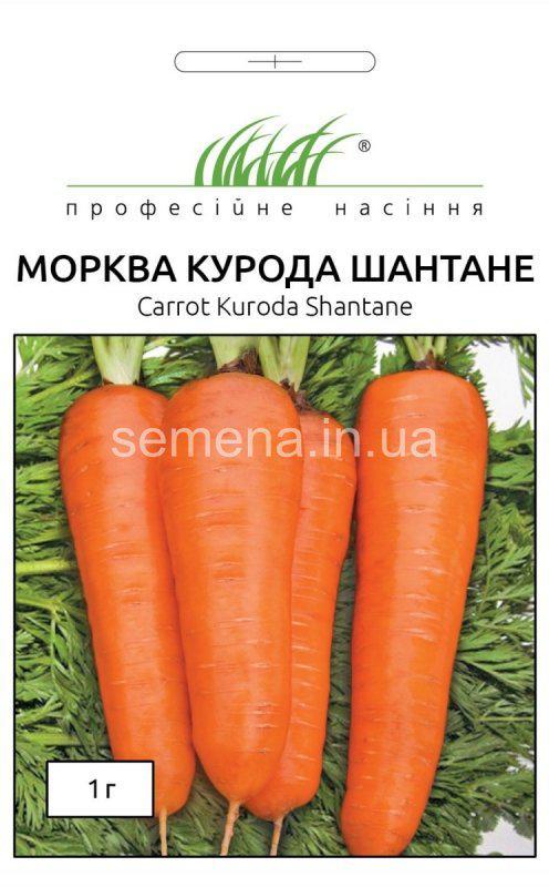 Насіння моркви Курода Шантане, 1 г