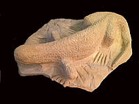 Ящерица - скульптура для сада, фото 1