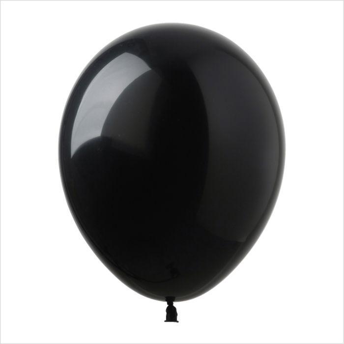 Латексный воздушный шар черный