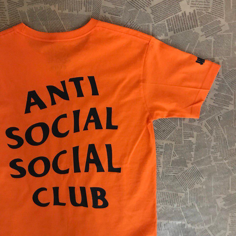 Футболка с принтом Undefeated | Paranoid Anti Social social club мужская