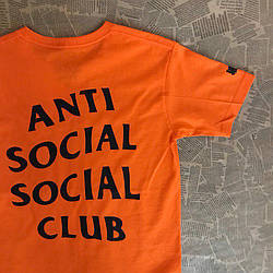 Футболка с принтом Undefeated | Paranoid Anti Social social club мужская