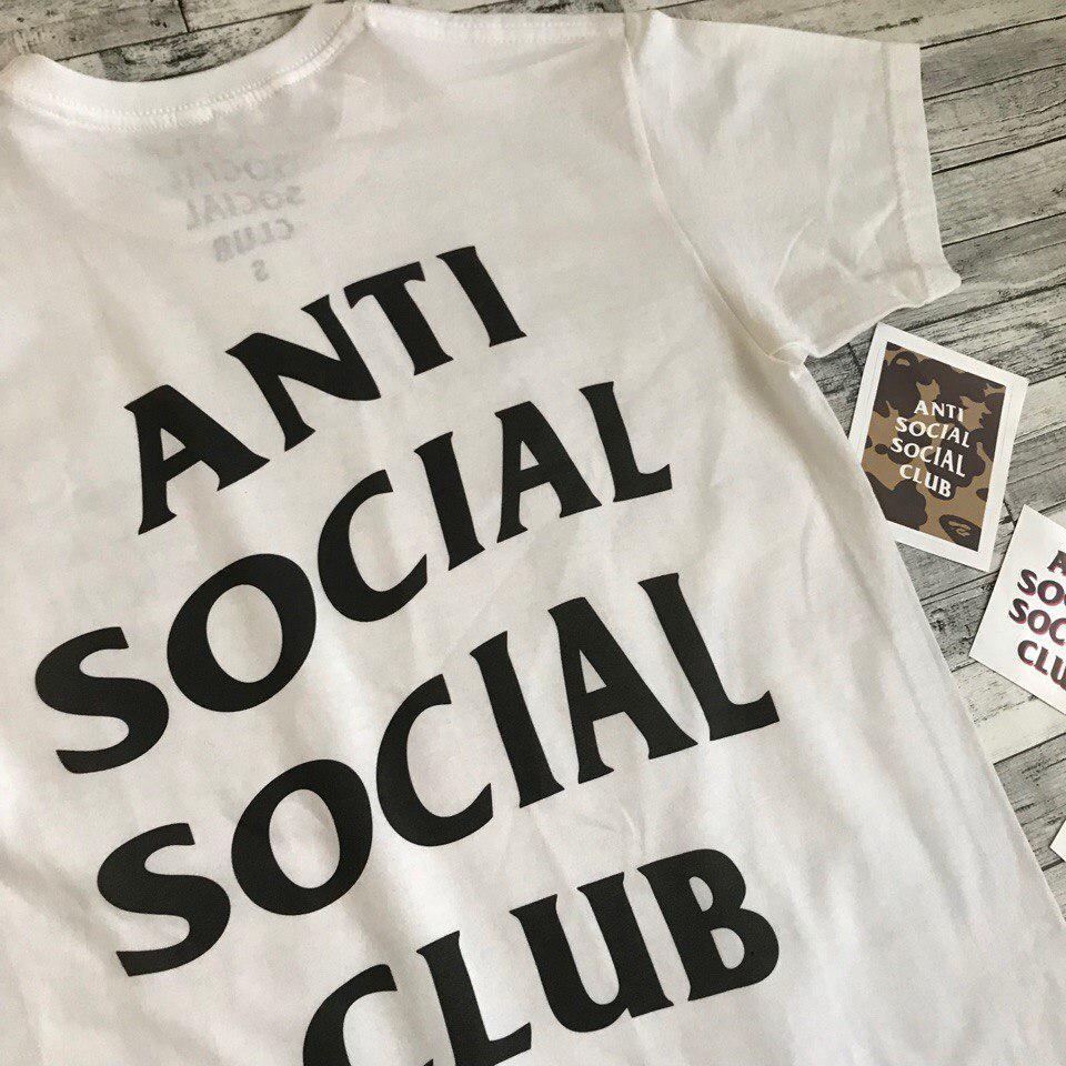Футболка Anti Social social club | мужская
