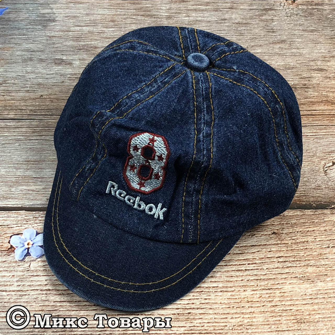 Джинсовая кепка для малыша (объём 48- 50 см) (1016)