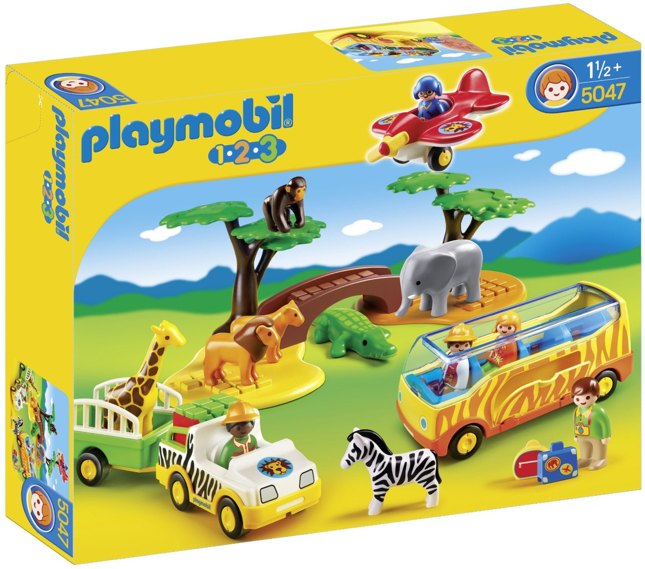 Playmobil 5047 Савана (Плеймобил конструктор Савана)