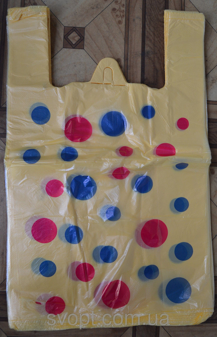 Пакет майка Шарик №3 (250шт в упаковке)