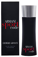 Мужская туалетная вода Giorgio Armani Armani Sport Code (Армани Спорт Код), фото 1