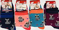 Носки детские демисезонные девочка ВиАтекс размер 21(35-36) ассорти, фото 1