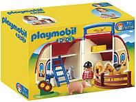 Playmobil 6778 Переносна стайня (Плеймобил конструктор Переносная стайня)