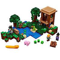 Конструктор Лего Майнкрафт 21133 Хижина Ведьмы, фото 1