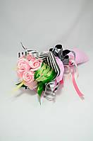 Цветы из мыла набор розовый сюрприз Композиция Soap Flowers Pink Surprise