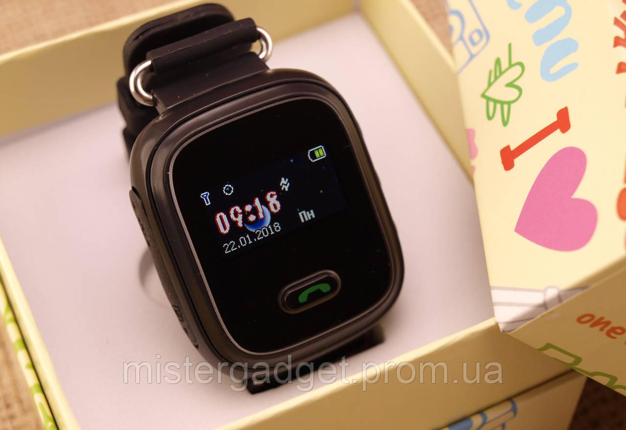 Детские умные часы Q60 с GPS трекером